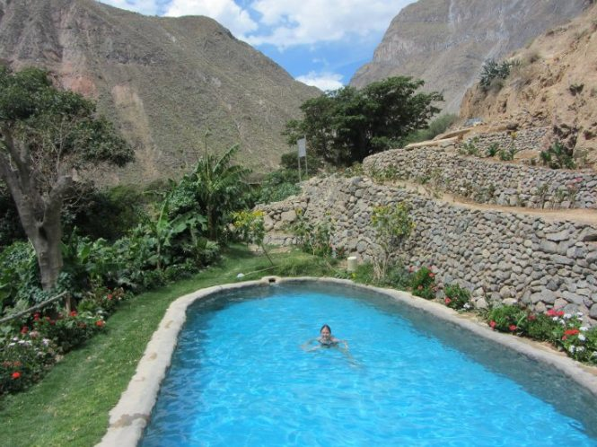 Colca Canyon Natural Springs Beautiful
