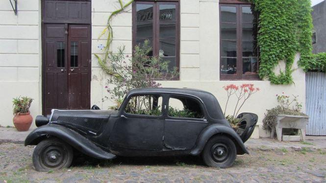 Colonia Del Sacramento Vintage Car